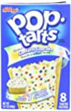 Kellogg's Pop Tarts, Frosted Confetti Cupcake, 14.1 Ounce (Pack of 12)