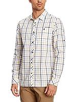 Craghoppers Camisa Hombre Essien (Blanco / Amarillo)