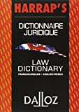 img - for Dictionnaire juridique fran ais-anglais / anglais-fran ais : Law Dictionary French-English/English-French (Harrap's - Dalloz) (French Edition) book / textbook / text book