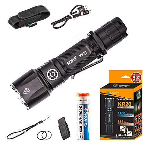 rofis-kr20-cree-xp-l-hi-v3-led-usb-rechargeable-torch-1100-lumens-tactical-flashlight-kr20