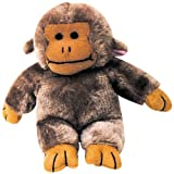 Pet Supply Imports Talking Soft Plush Dog Toy, Monkey, 6-Inch
