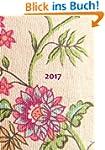 dicker TageBuch Kalender 2017 - BLUME...