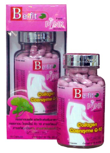Be-Fit Collagen Plus, Marine Protein, 60 Capsules, Thanyaporn Herbs