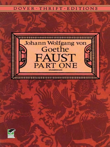 a literary analysis of faust by johann wolfgang von goethe