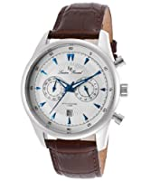 Lucien Piccard Men's LP-10524-023S Muzzano Analog Display Japanese Quartz Brown Watch by Lucien Piccard