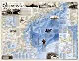National Geographic Maps Shipwrecks of the Northeast, tubed Wall Maps History & Nature (National Geographic Reference Map)