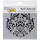 Crafters Workshop Template, 6 by 6-Inch, Brocade