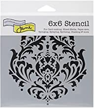 Crafters Workshop Template 6 by 6-Inch Brocade