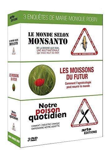 Marie-Monique Robin Collection - 3-DVD Box Set ( Le monde selon Monsanto / Les moissons du futur / Notre poison quotidien ) ( The World Acco [ Origine Francese, Nessuna Lingua Italiana ]