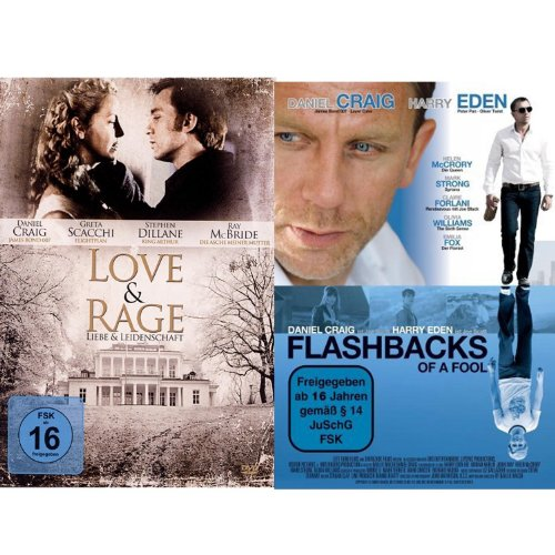 Daniel Craig Fan-Collection: Love & Rage / Liebe und Leidenschaft / Flashbacks of a Fool [2 DVDs]