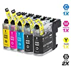 INKUTEN 5 PACK Compatible Brother LC103XL LC101 High Yield Ink Cartridges for Brother MFC-J870DW, MFC-J470DW, MFC-J475DW, MFC-J875DW, MFC-J650DW, MFC-J285DW, MFC-J6920DW, MFC-J450DW, MFC-J245, MFC-J6520DW, MFC-J6720DW Brother DCP-J152W.