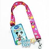 Disney Minnie Mouse Lanyard Key Chain & Key Holder