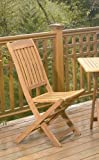 Spontaneity Folding Patio Chairs (2 pack)