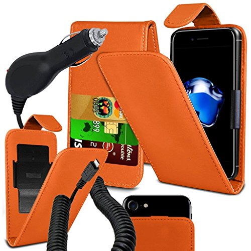 coolpad-rogue-case-super-essentials-pack-clamp-spring-style-cuir-pu-wallet-chargeur-orange