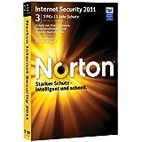 """Norton Internet Security 2011 - 3 PCvon """"Symantec"""""""