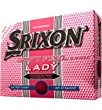 Srixon Ladies Soft Feel Pink Golf Balls (12 Balls) 2013
