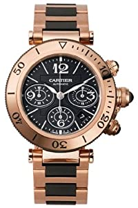 Cartier Pasha Seatimer Chronograph Mens Watch W301980M
