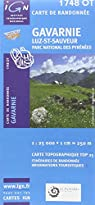 Gavarnie/Luz-Saint-Sauveur/PNR des Pyrenees GPS: IGN.1748OT par Institut g�ographique national