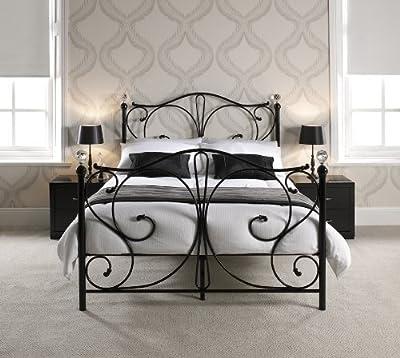 Bedzonline Sherry 5ft Metal Bed Black