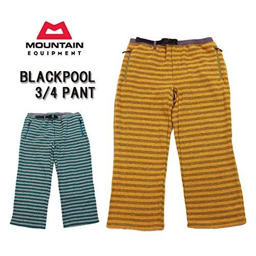 (マウンテン イクイップメント)MOUNTAIN EQUIPMENT moeq-004 パンツ BLACKPOOL 3/4 PANT/ ブラックプール・3/4パンツ / ウール混 / フリース / 423469