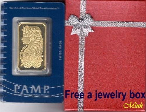 PAMP Suisse 1 ounce gold bar