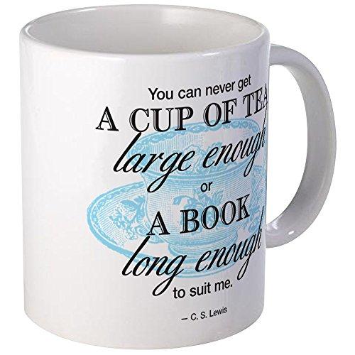 CafePress - Tea Quote Mugs - Unique Coffee Mug, 11oz Coffee Cup (Cs Lewis Quote Mug compare prices)
