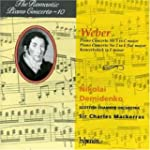 Concertos Pour Piano Weber (The Roman...
