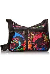 LeSportsac Deluxe Everyday Handbag,Frenzy,One Size