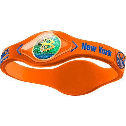 Power Balance New York Knicks The Original Performance Wristband (Orange/Blue, X-Small)
