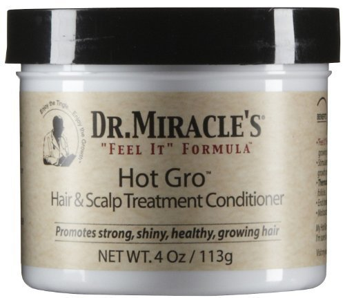 Dr. Miracle Hot Gro Hair & Scalp Treatment (Set of 6) (Medicated Hair Grease compare prices)