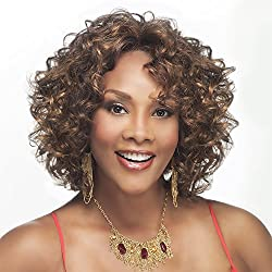Chilli V (Vivica A. Fox) Synthetic Lace Front Wig In Off Black (Color 1 B)
