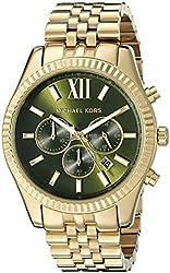 Michael Kors Men's MK8446 Lexington Gold-Tone Watch