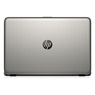 HP 15-af103AX 15.6-inch Laptop (a8_7410/4GB/1TB/AMD Radeon R5 Series M330), Turbo Silver Colour with Diamond and...