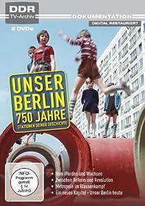 Unser Berlin - 750 Jahre (DDR TV-Archiv) [2 DVDs]