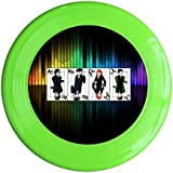 KellyGreen, One Size : Kim Lennon Now You Watching Me Custom Outdoor Plastic Sport Disc Colors And Styles Vary Yellow
