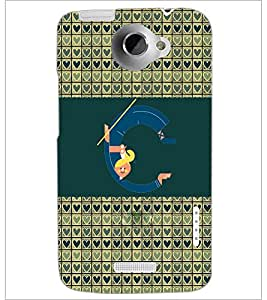 PrintDhaba GRANDbet C D-2591 Back Case Cover for HTC ONE X (Multi-Coloured)
