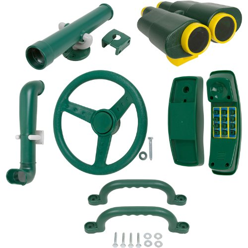 Deluxe Accessories Kit (Green) With Sss Logo Sticker
