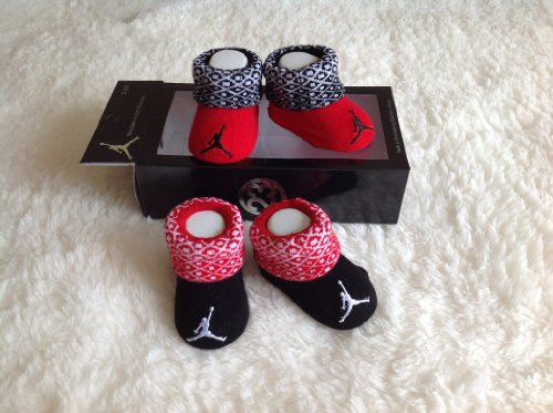 Nike Jordan Infant New Born Baby Booties 0-6 Months