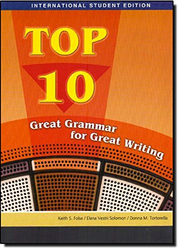 Top 10: Great Grammar for Great Writing
