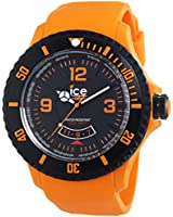ICE-Watch Surf Men's Quartz Watch with Black Dial Analogue Display and Black Silicone Bracelet DI.OE.XB.R.11