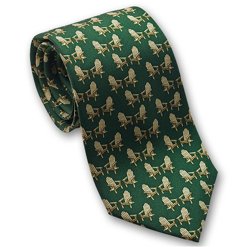 Adirondack Chair - Men's Silk Necktie