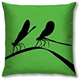 Right Digital Printed Clip Art Collection Cushion Cover RIC0026a-Green