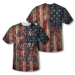 Fight Club Losing Hope All Over Print Front / Back T-Shirt
