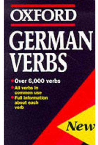 German Verbs (Oxford Paperback Reference)