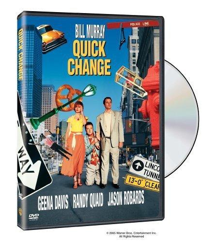 DVD : Quick Change (1990) [+Peso($32.00 c/100gr)] (US.AZ.5.72-0-B0009PVZD2.387)