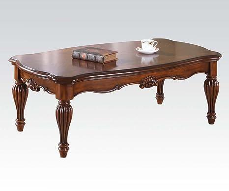 Acme 10290 Dreena Coffee Table, Cherry Finish