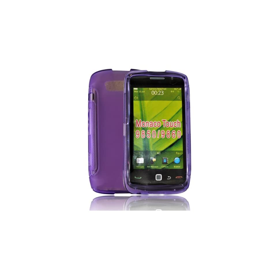 mobile palace  Purple gel case cover pouch holster for Motorola Atrix mb860