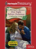 img - for One Night Before Christmas (Harlequin Romance) book / textbook / text book