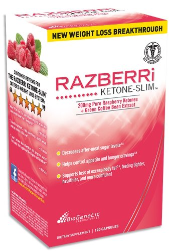 biogentec razberri ketone slim pure raspberry ketones and green coffee bean extract 120 ct. Black Bedroom Furniture Sets. Home Design Ideas