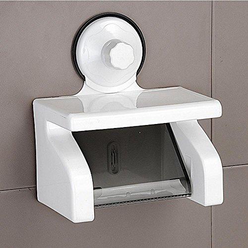 LLYY-Scatole di tessuto del bagno carta impermeabile vuoto ventosa portatovaglioli di carta da parati